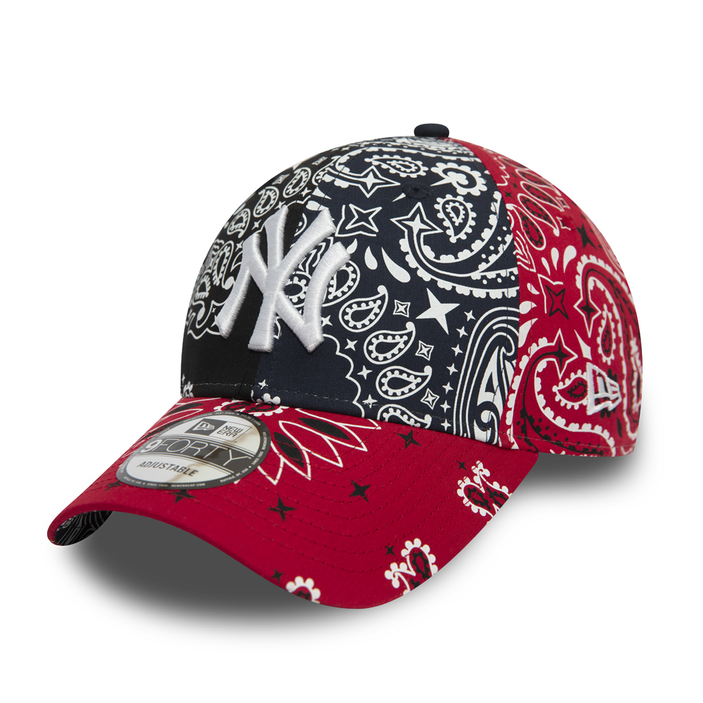 New York Yankees Paisley Navy 9FORTY Cap