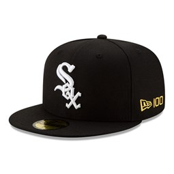Chicago White Sox MLB 100 Black 59FIFTY Cap