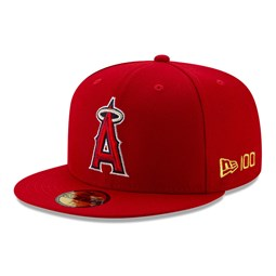 Anaheim Angels MLB 100 Red 59FIFTY Cap