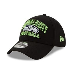Seattle Seahawks NFL20 Draft Black 39THIRTY Cap
