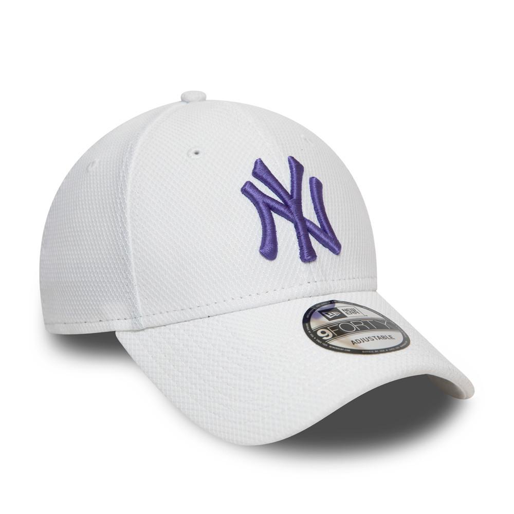 New Era 9Forty Damen Cap DIAMOND ERA New York Yankees weiß