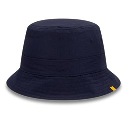 New Era Cotton Canvas Reversible Navy Bucket