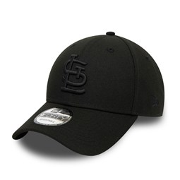 St. Louis Cardinals London Series Black 9FORTY Snapback Cap