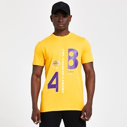 Los Angeles Lakers Established Graphic Yellow T-Shirt