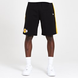 Los Angeles Lakers Tape Black Shorts