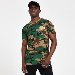 Los Angeles Lakers Camo T-Shirt