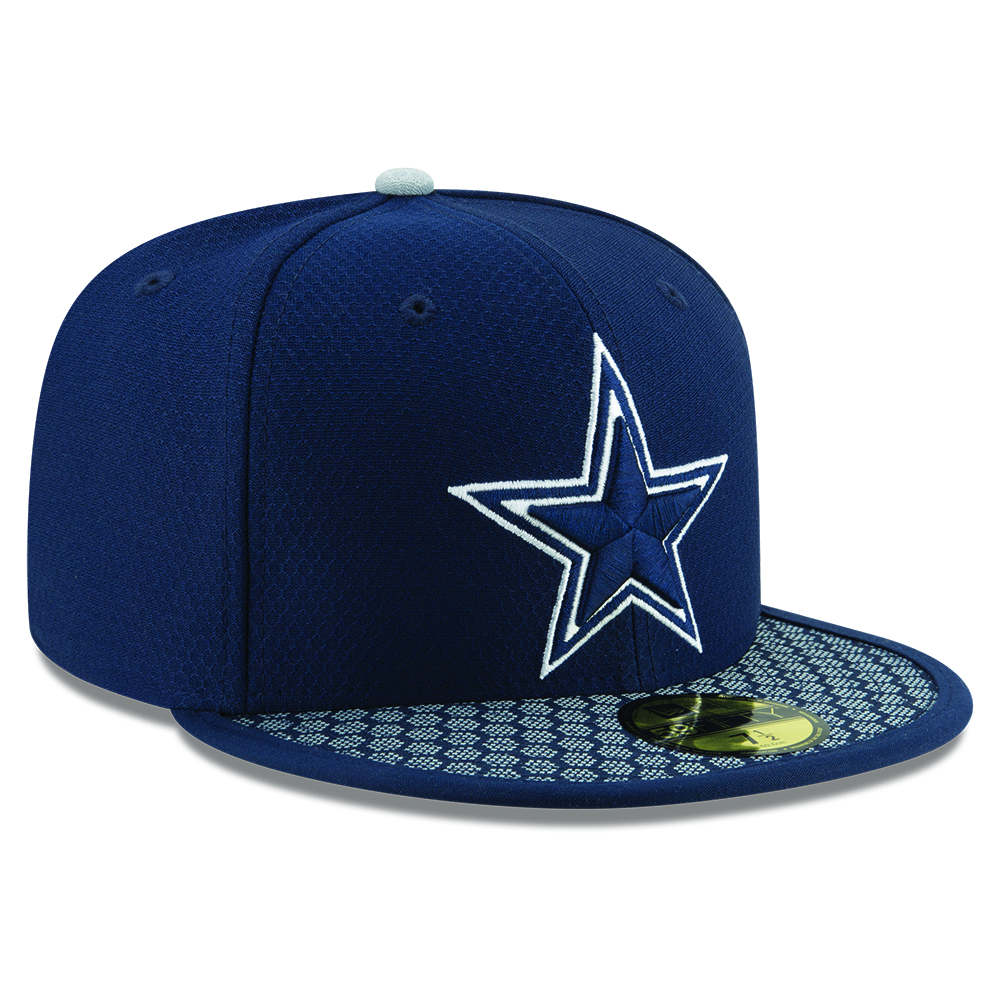 Dallas Cowboys 2017 Sideline Navy 59FIFTY
