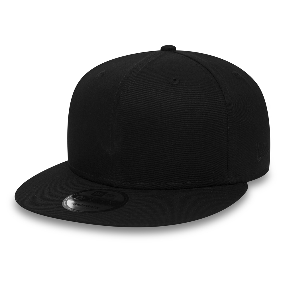 New Era Cotton 9FIFTY Black on Black Snapback