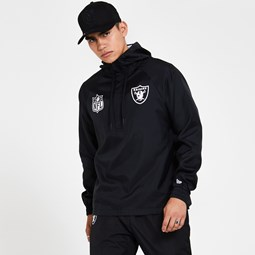 Oakland Raiders Black Windbreaker Jacket