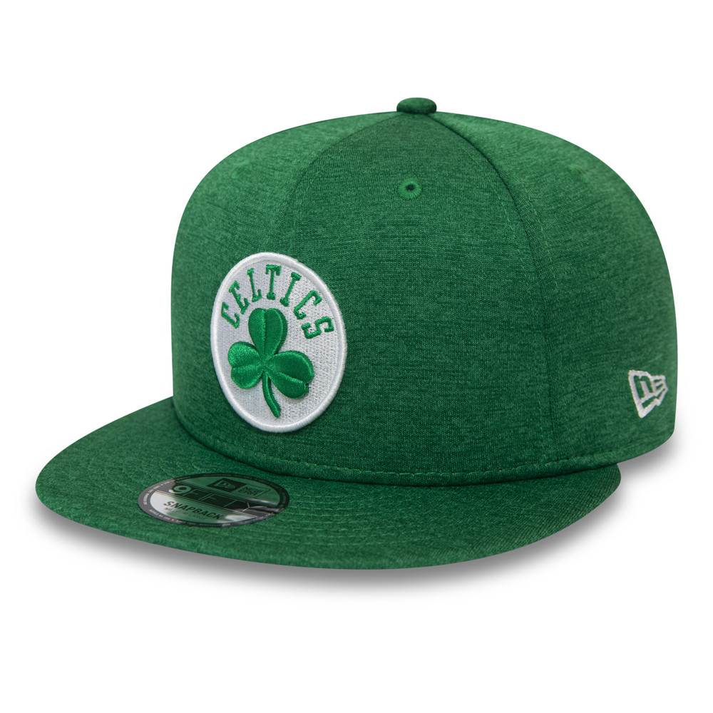 New Era 39Thirty Stretch Cap Shadow Boston Celtics