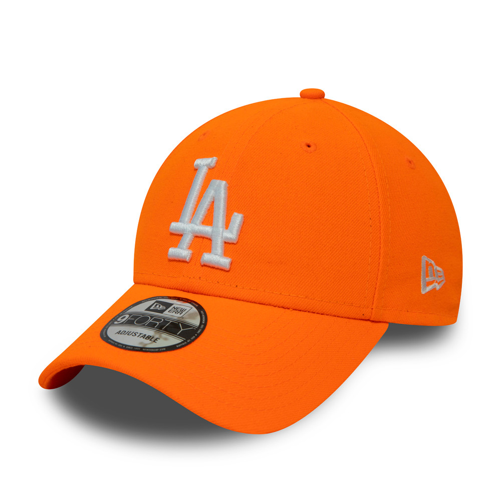 Los Angeles Dodgers Neon Orange 9FORTY Cap