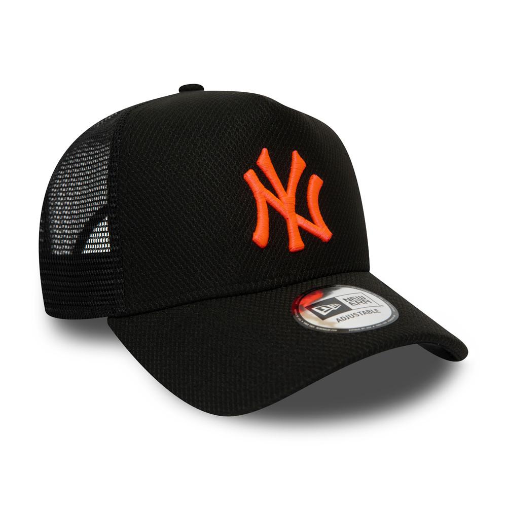 DIAMOND New York Yankees New Era Adjustable Trucker Cap